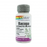 Bacopa 100 mg Solaray, 60 cápsulas vegetais