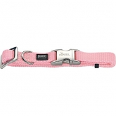 Collar pequeño Puppy Alu-Strong rosa palo Hunter