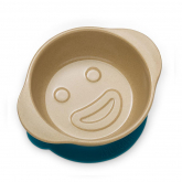 Bowl Poti-Poti de fibra de arroz Ecofriendly + silicone azul, The Dida World