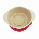 Bowl Poti-Poti de fibra de arroz Ecofriendly + silicone magenta, The Dida World
