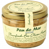 Patê de atum com azeitonas Pan do mar, 140 ml