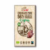 Chocolate preto 56% Solé, 100 gr