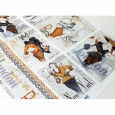 Papel arroz decoupage lady