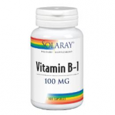 B1 100 mg Solaray, 100 cápsulas