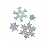 Cortante L Stacked snowflakes Bigz Sizzix