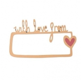 Cortante Love & Wishes Thinlits Sizzix