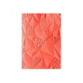 Placa de textura 3D Jumbled triangles Textured Impressions Sizzix