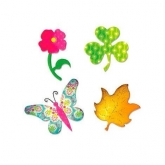 Matriz cortante Butterfly, flower, leaf and shamrock Bigz Sizzix