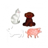 Matriz cortante Cat, dog, pig and rabbit Bigz Sizzix