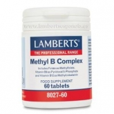 Methyl B Complex Lamberts, 60 tabletas