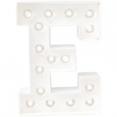 Letra luminosa Led Marquee Love Heidi Swapp - E