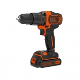 Kit completo Taladro percutor 18 V BDCHD18KB-QW Black+Decker