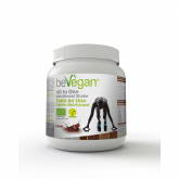 Batido para deportistas All in one cacao BeVegan, 600 g