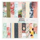 Papel scrapbooking doble cara Saturday 12