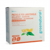 Greentabs  lavavajillas Greenatural, 25 pastillas