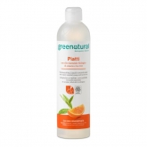 Detergente platos y vajillas  a mano Greenatural, 500 ml