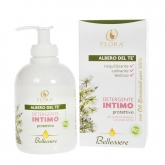Gel íntimo com tea tree reequilibrante Flora, 250 ml