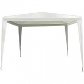 Carpa desmontable Oxford blanco 3 x 3 m