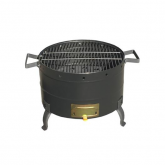 Barbacoa negro mate ø 34mm Theca