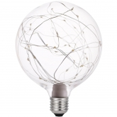 Bombilla Globo LED vintage Starlight1,2W E27 luz cálida 2700K Garza Lighting -