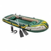 Barco hinchable Seahawk 4 Intex Sport Series 351x145x48 cm