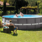 Piscina desmontable redonda Intex - Ultra Frame - 488x122 cm - 19.156