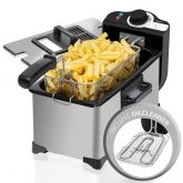 Fritadeira CleanFry 3L, Cecotec, 2000W