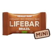 Lifebar mini nueces de Brasil Bio Lifefood 25g