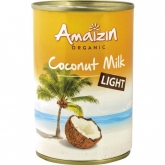 Leche de coco light Amaizin 400 ml