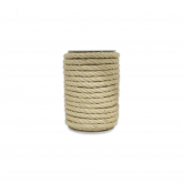 Corda de sisal natural, 8mm, 15m