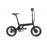 Bicicleta Eléctrica Plegable Fun Bike Oops – Color Negro