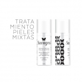 Crema facial antiedad pieles mixtas Savages, 50 ml