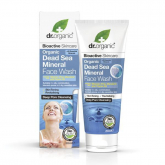 Limpeza facial com minerais do mar morto Dr. Organic, 200ml