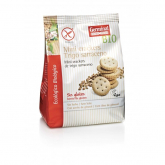Mini crackers de Trigo Sarraceno sin gluten Germinal, 180 gr