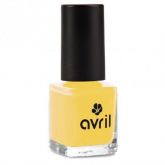 Esmalte de uñas amarillo Jaune Curry N°680 Avril, 7 ml