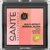 Colorete multi effect 6 tonos 01 coral Sante 8 gr