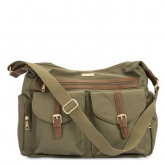 Bolsa Vegana Olive Rambler Satchel Little Unicorn