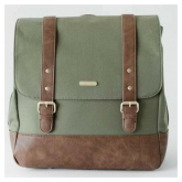 Bolso Vegano Marindale Backpack Olive Little Unicorn