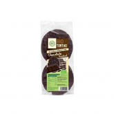 Bolos de arroz mergulhados em fondant de chocolate Sol Natural 100g