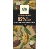 Chocolate 85% cacao Sol Natural 70g