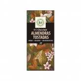 Chocolate com amêndoas tostadas Sol Natural 70g