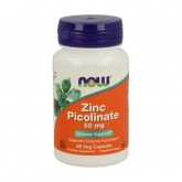 Zinc Picolinato 50 mg Now Foods 60 cápsulas vegetales