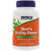 Men's Virility Power Now Foods 60 cápsulas