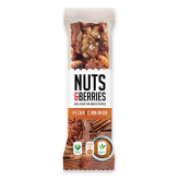 Barrinha de nozes e canela NUTS&BERRIES 30gr
