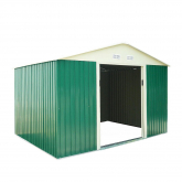 Caseta metálica Space high door Green