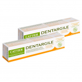 Pack 2x Dentífrico dentargile arcilla y salvia CATTIER, 75ml