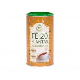 Chá solúvel mix 20 plantas Sol Natural 190 g