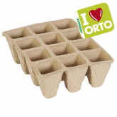 Semillero Biodegradable 6x12x5cm (12 celdas) Pack 6 uds