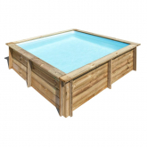 Piscina Rectangular City Gre 225 x 225 x 68 cm
