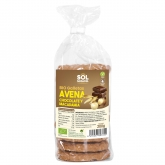 Galletas de avena con chocolate y macadamia Sol Natural 200 g